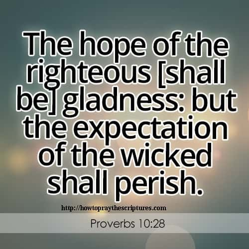 Scriptures On Hope