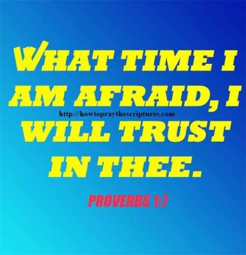 What Time I Am Afraid I Will Trust In Thee Psalms 56-3