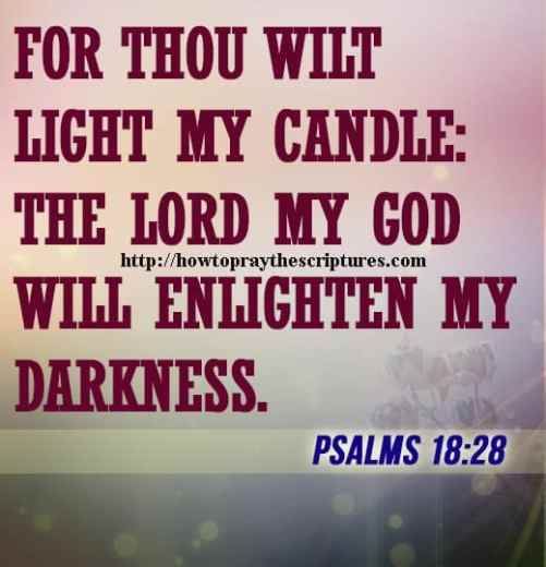 For Thou Wilt Light My Candle Psalms 18-28