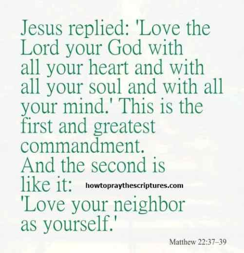 Some Amazing Bible Verses On Love