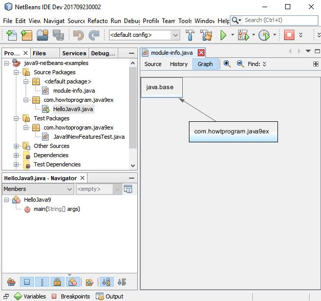 Set up NetBeans IDE for Java 9 - module-info.java in NetBeans