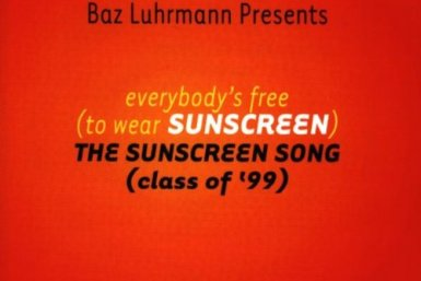 Song cover art for Everybody's Free (To Wear Sunscreen)