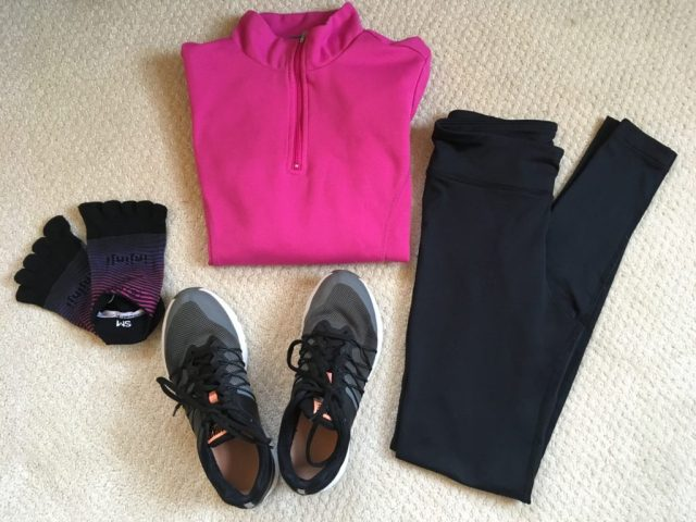 Running Hacks- Lay Out Clothes