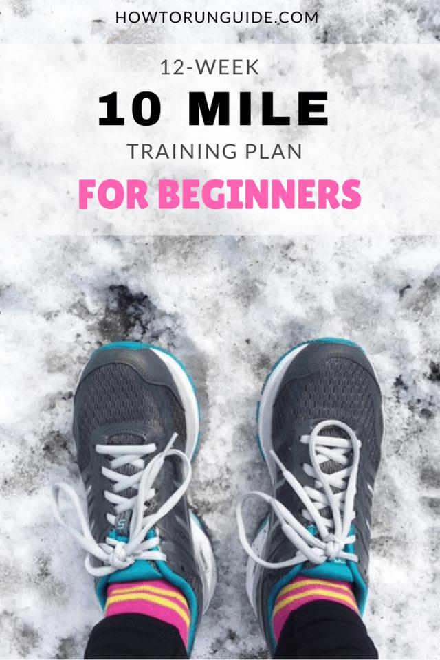 10 Mile Training Plan for Beginners