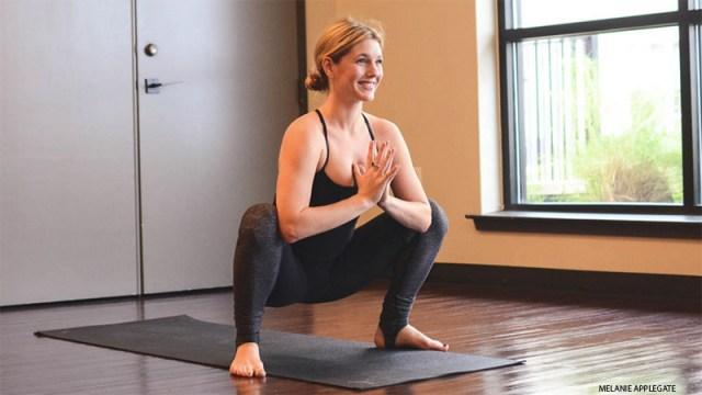 Yoga for Runners - Garland Pose