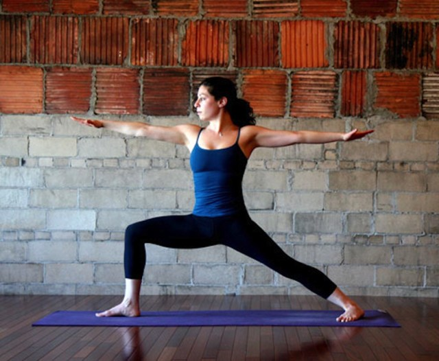 Yoga for Runners - Warrior 2 pose
