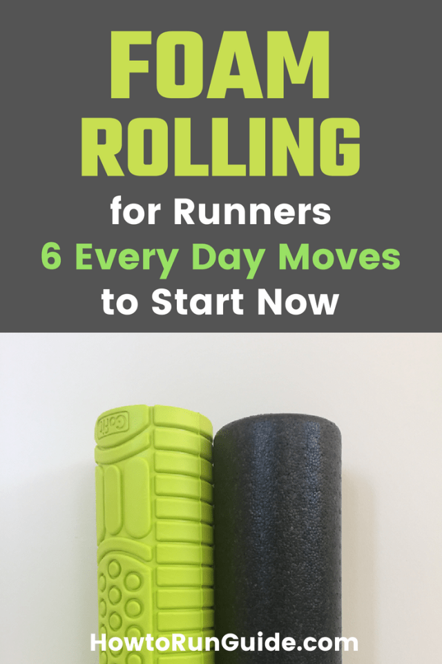 The Ultimate Guide to Foam Rolling for Runners. 6 crucial moves to start doing now for muscle recovery and more. #running #runningtips