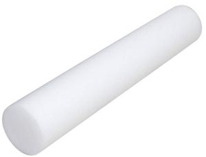 Foam Rolling for Runners - White Low Density Foam Roller