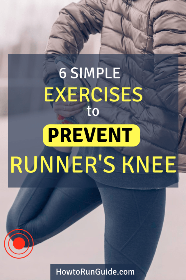 Prevent runner's knee from happening (or coming back) with these 6 easy exercises. #running #runningtips