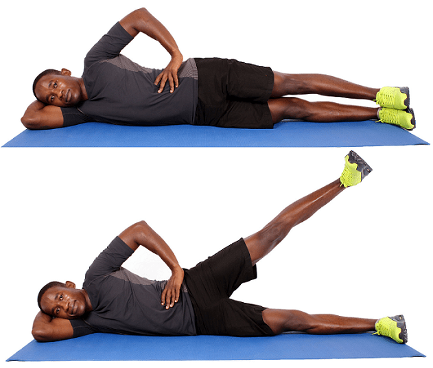 How to Prevent Runners Knee - Leg Lifts
