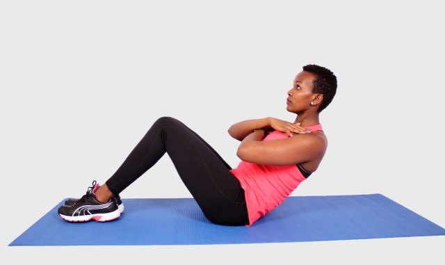 Abs Workout Routine - Sit Ups