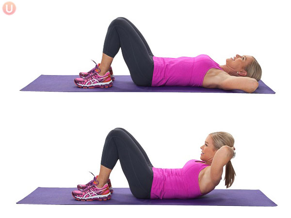 Quick Bodyweight Exercises - Crunches