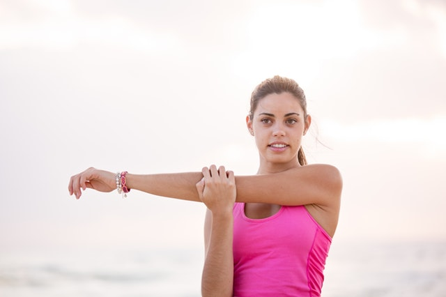 Stretching Exercises-Arm Stretch