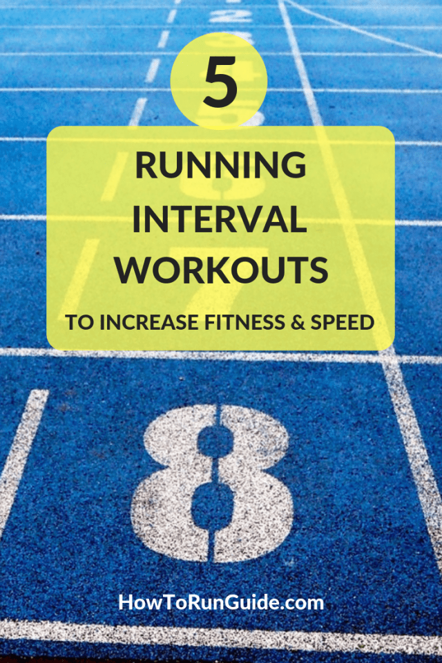 Integrate running interval workouts into your routine and watch your pace improve.