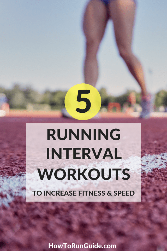 Integrate a running interval workout into your weekly schedule and watch your pace improve.