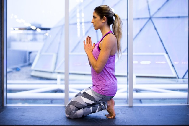 Plantar Fasciitis Stretches for Runners - Kneeling Sole Stretch