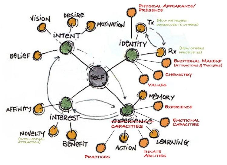 A model of identity (and community) formation (Credits: Williamson & Pollard)