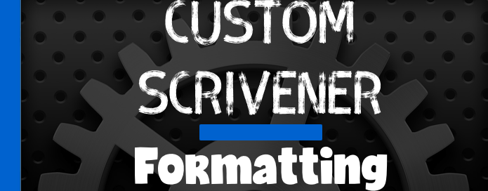 Create Custom Format Presets in Scrivener