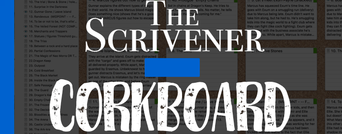 How to Use Scrivener's Corkboard