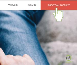 create gmail account homepage