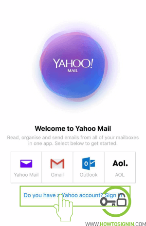 yahoomail mobile sign in