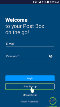 Mail.com mobile sign up