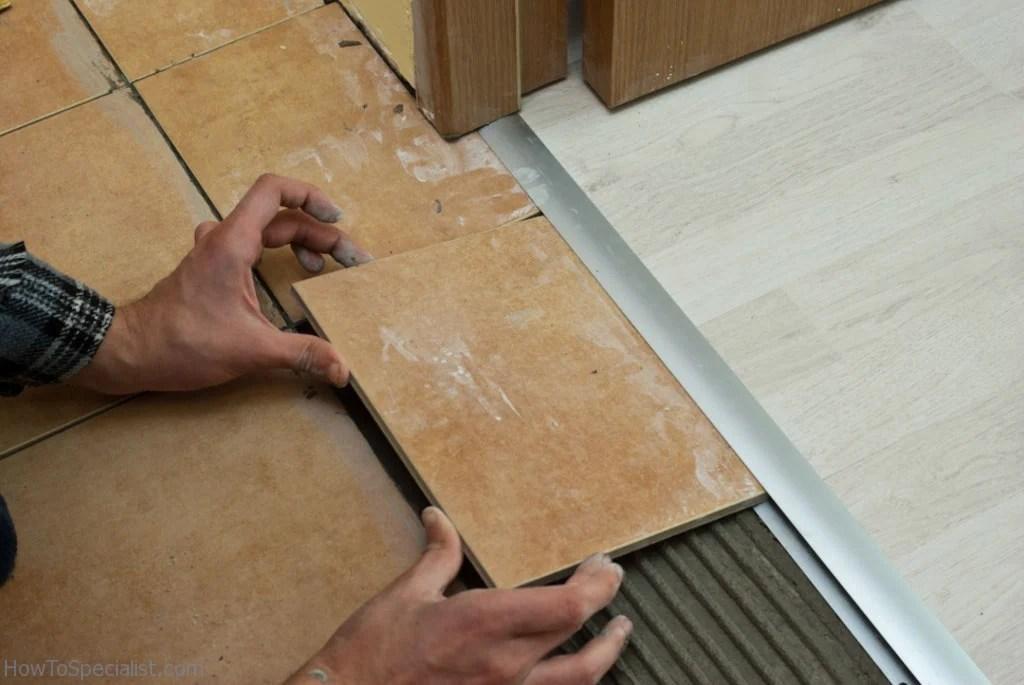 laminate flooring joining strip