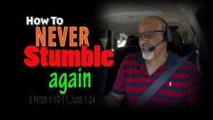 How to never stumble again