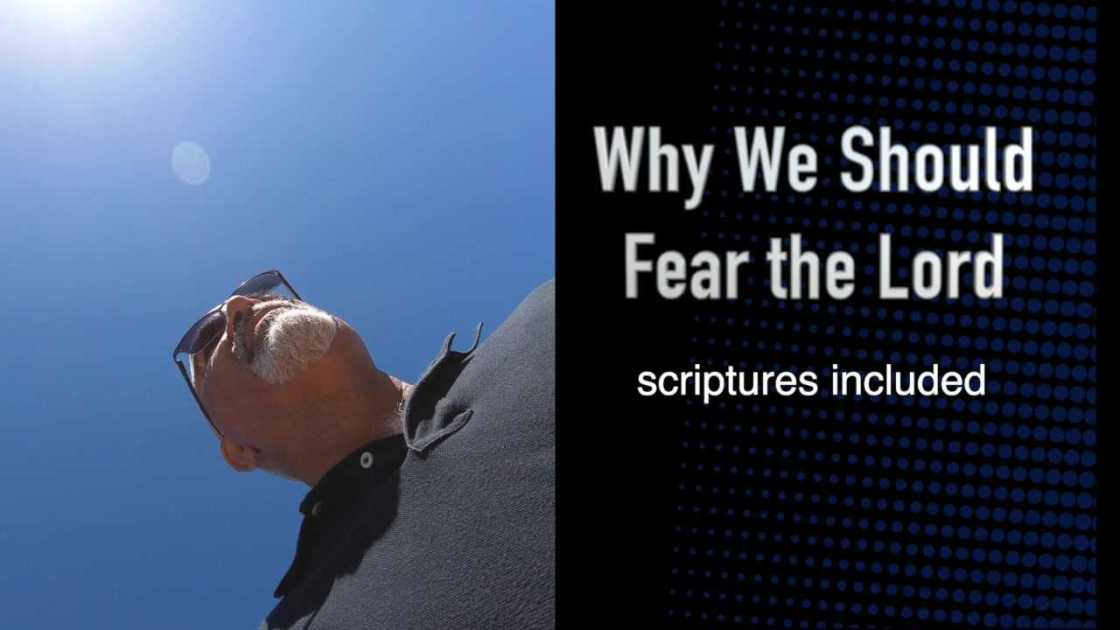 why we should fear the Lord promo picture