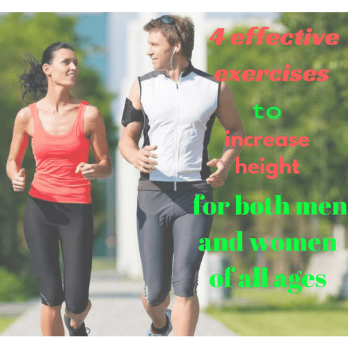 4 effective exercises to increase height for both men and women of