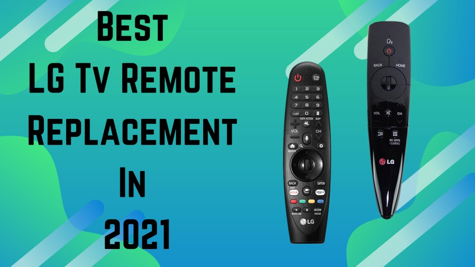 lg tv remote replacement