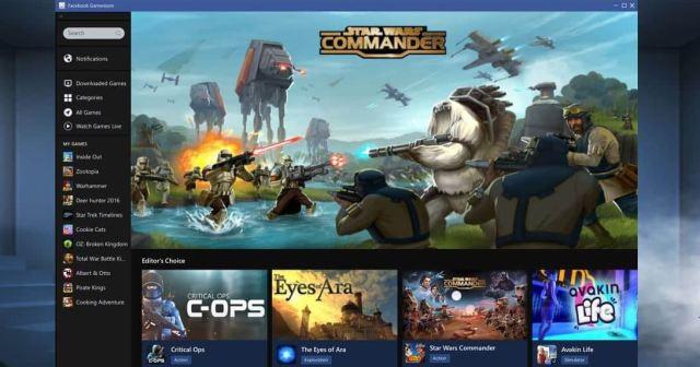 Facebook Gameroom free download