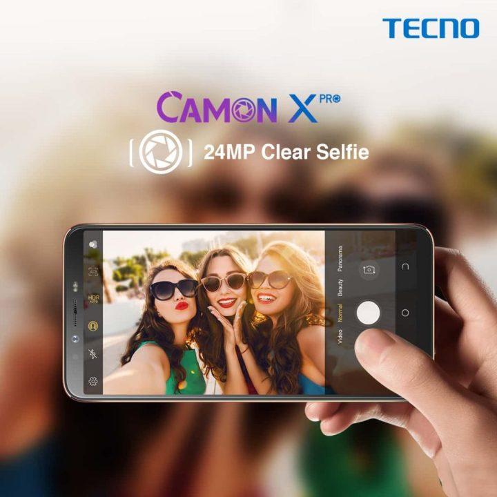 tecno camon x pro specifications