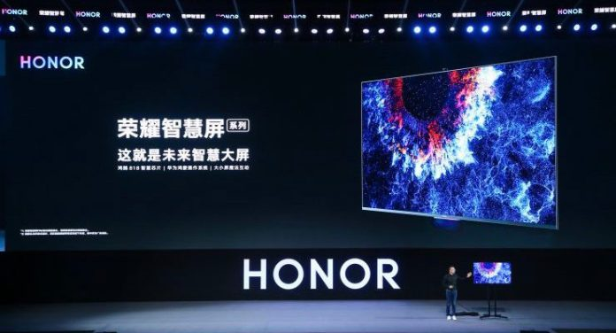 Huawei Launches First Product with HarmonyOS, Honor Vision Smart TV 1