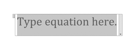 type equation tool