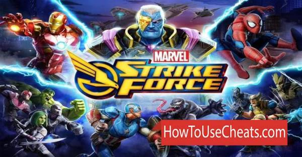 MARVEL STRIKE FORCE Hack Cheats Gold Power and Energy