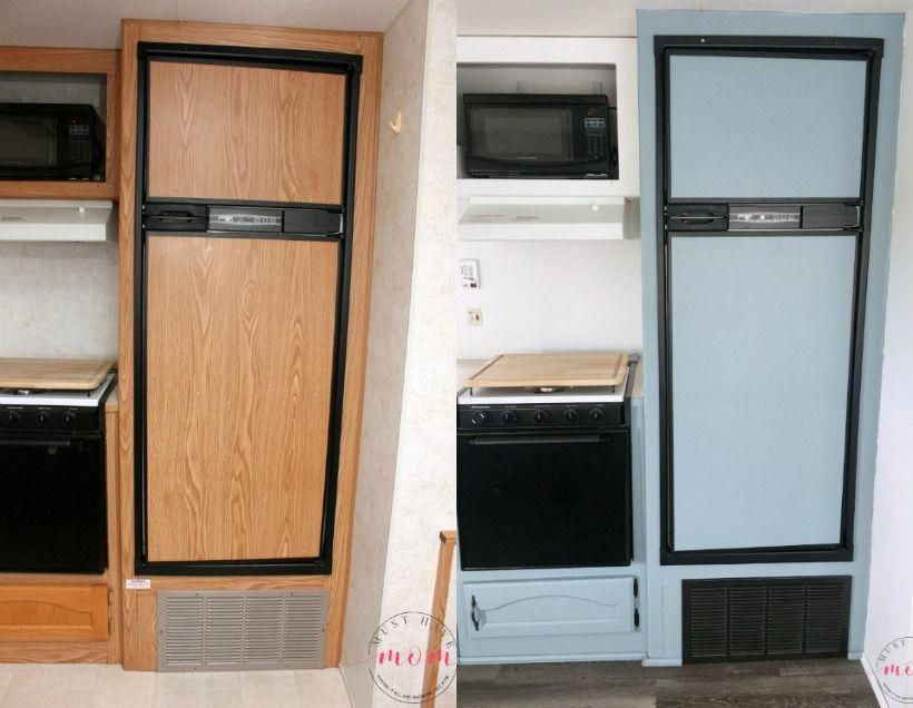 Easy RV Makeover with instructions to remodel RV interior, paint RV