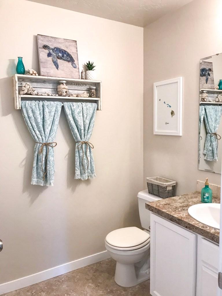 beach themed bathroom decor ideas | how we do