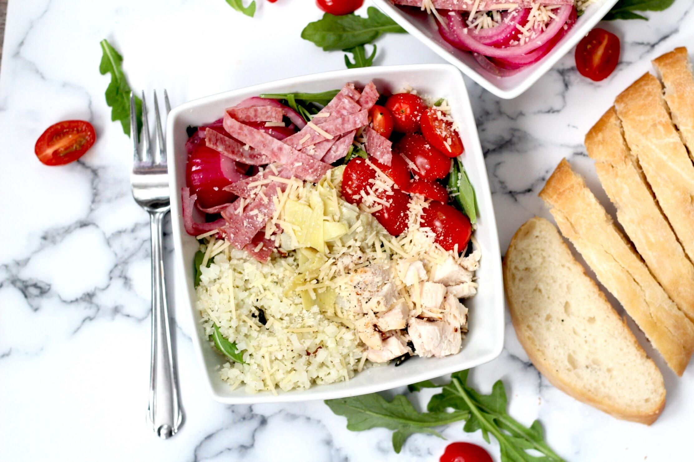 Italian Salad Bowls How We Macro