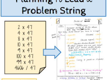 Planning to Lead a Problem String