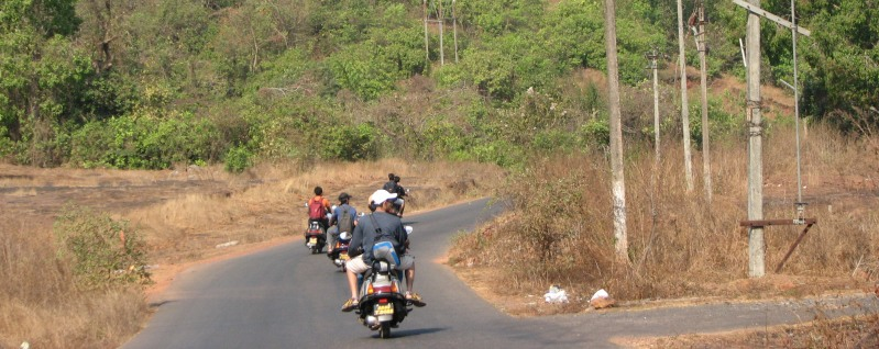 On road, Goa