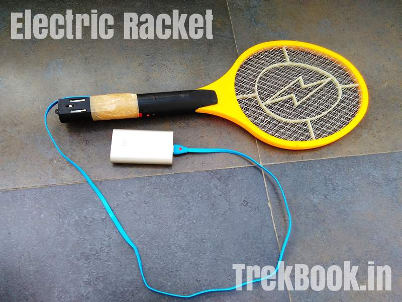 Mosquito Killer Racket USB powerbank