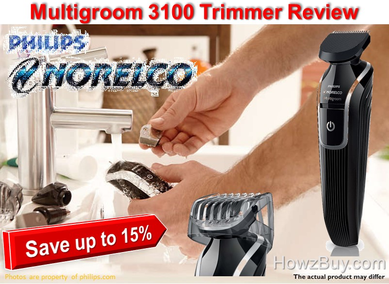 philips norelco multigroom 3100 trimmer review. Black Bedroom Furniture Sets. Home Design Ideas