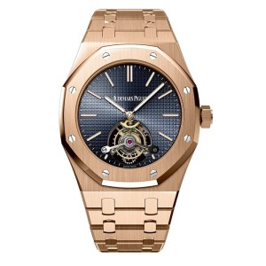 Audemars Piguet Royal Oak Tourbillon 41 Extra Thin Rose Gold Watch review