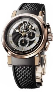 Breguet Marine Tourbillon Chronograph Rose Gold Watch review