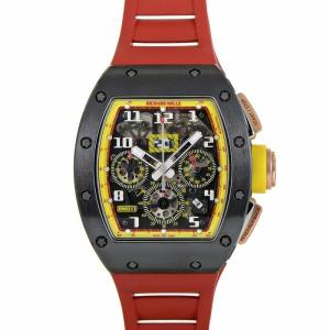 Richard Mille automatic-self-wind black mens Watch RM011 AO RG-TZP-Z