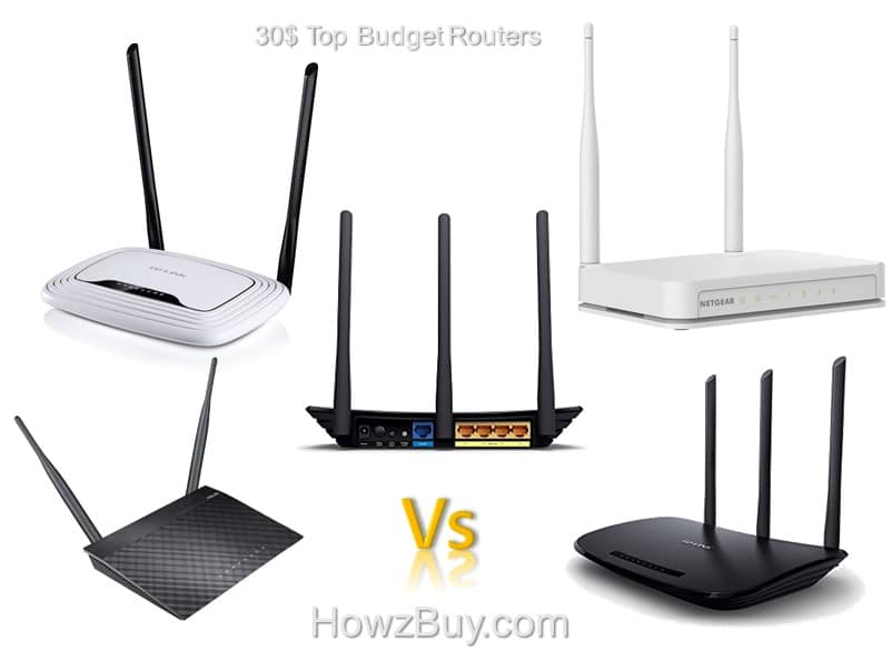 30$ Top Budget Routers - 2016
