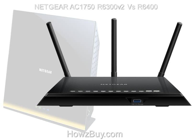 NETGEAR AC1750 R6300v2 Vs R6400 review compare