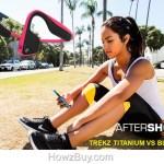 AfterShokz Trekz Titanium Vs Bluez 2 vs Bluez 2S Review and comparison