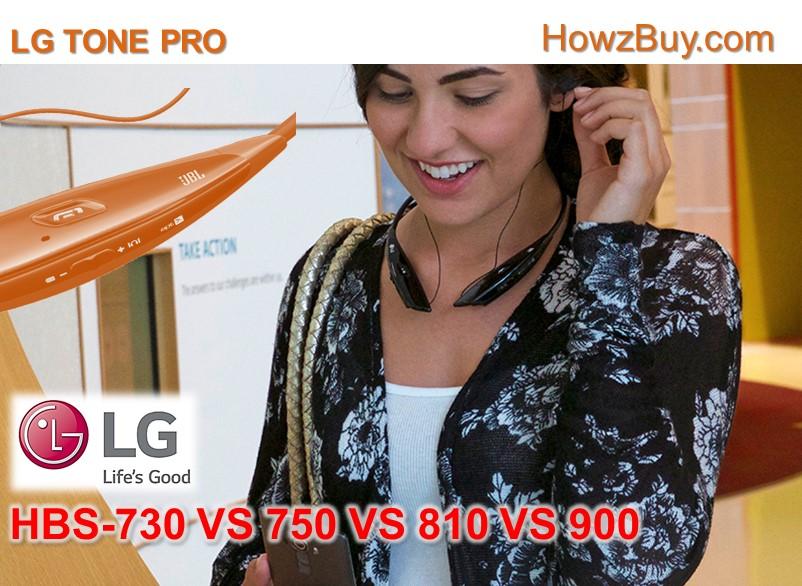 LG Tone Pro HBS-730 vs 750 vs 810 vs 900 Compare